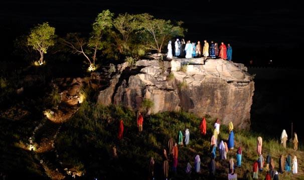 Espetáculo da Paixão de Cristo acontece nesta sexta-feira e sábado em Floriano (PI)