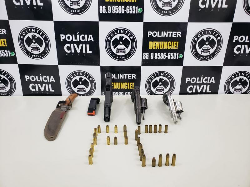 Polinter deflagra Operação Satélite e cumpre mandados em Teresina