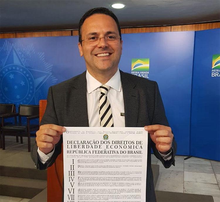 Membro da equipe de Guedes discutirá liberdade econômica em Teresina
