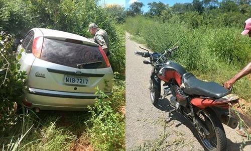 Motociclista estanca moto e morre após ser atropelado por carro no Sul do Piauí