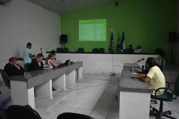 Câmara de Campo Maior realiza audiência pública sobre a Lei de Diretrizes Orçamentárias Municipais