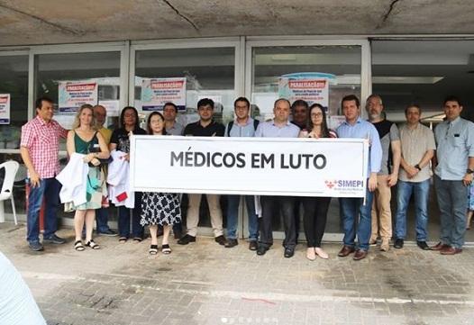 Começa hoje paralisação de médicos da rede estadual do Piauí