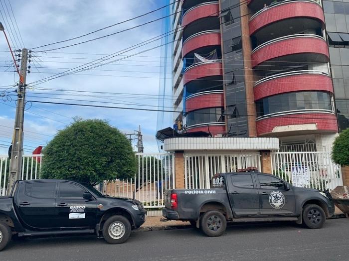 Polícia Civil faz buscas na casa do genro de Mão Santa
