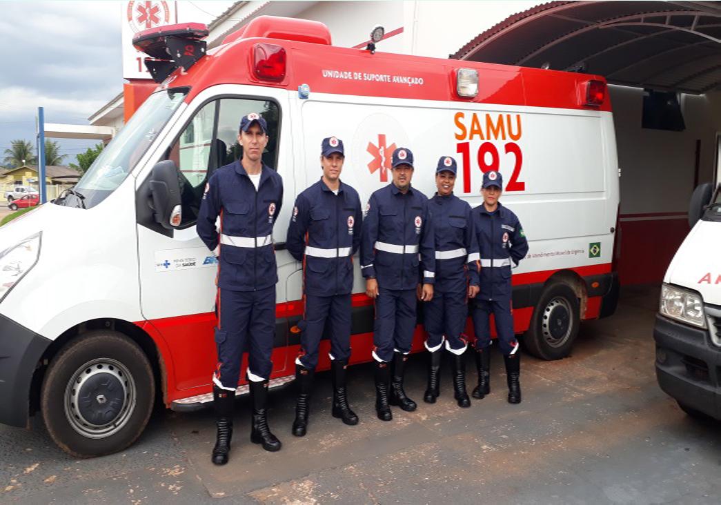 SAMU atende quase 1500 pessoas nos primeiros quatro meses do ano