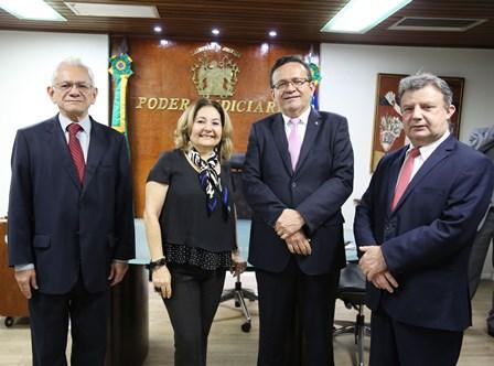 TRT Piauí, TJ-PI e TRE-PI fundam Rede de Governança Colaborativa do Poder Judiciário do Piauí
