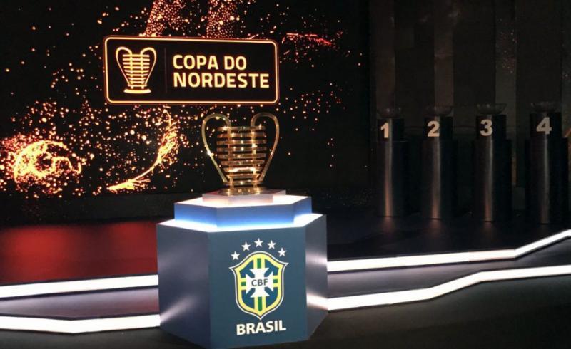 CBF realiza sorteio dos confrontos de mata-mata na Copa do Nordeste