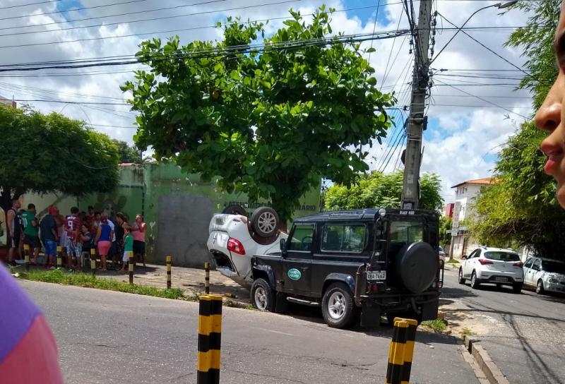 Acidente deixa uma criança e outras duas pessoas feridas em Teresina