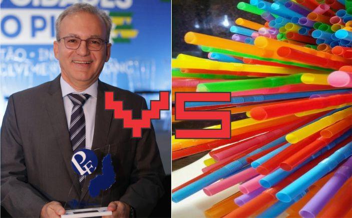Firmino Filho sanciona lei que proíbe uso de canudos de plásticos