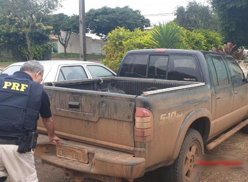 PRF prende motorista por associação criminosa na BR-230