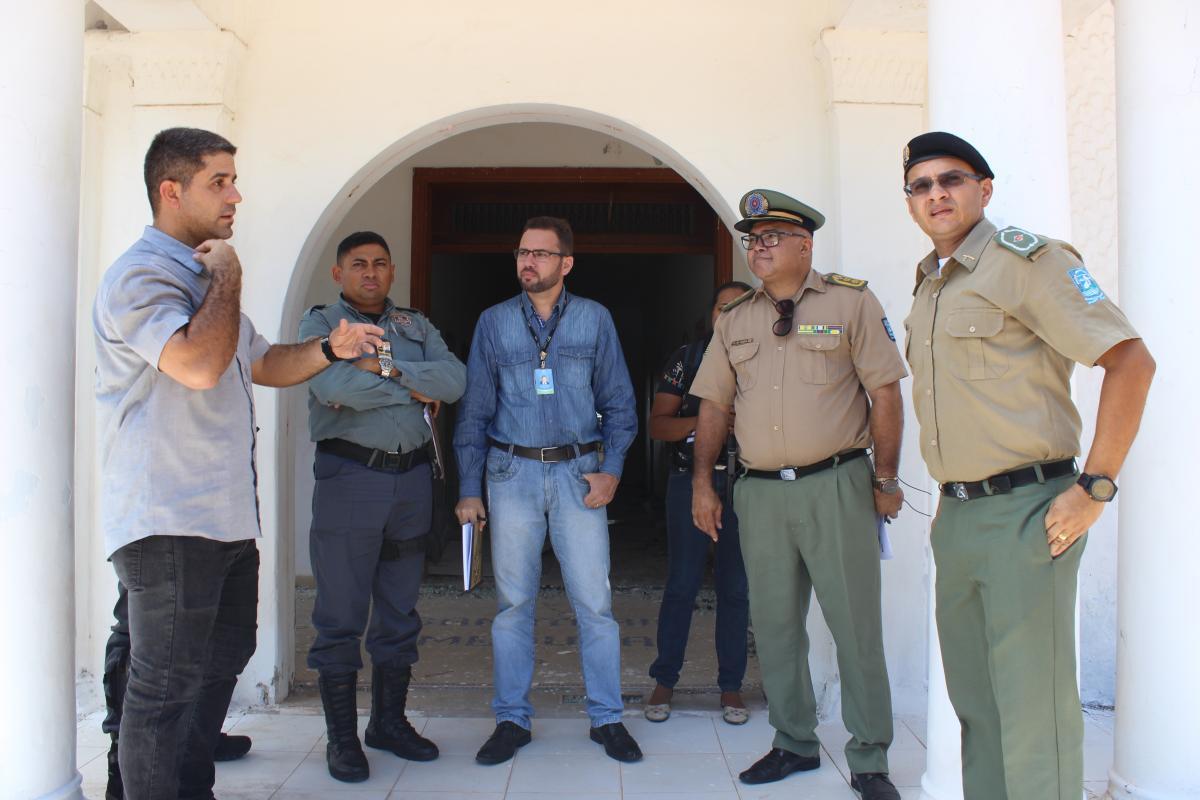 Reunião elabora estratégias e planejamento de segurança na Cidade Junina