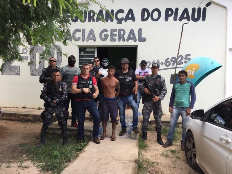 Acusado de latrocínio é preso no residencial Leonel Brizola