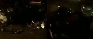 Vídeo: jovem fica gravemente ferida após acidente na BR-316