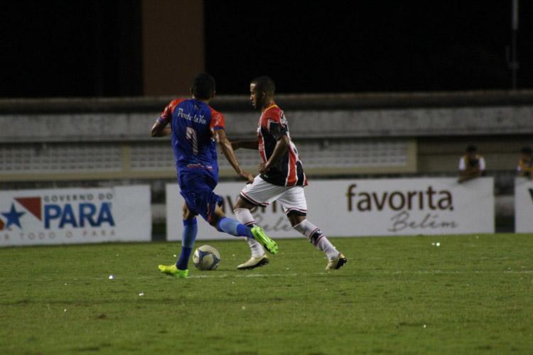 River perde 1 a 0 Bragantino do Pará e sofre eliminação da Série D