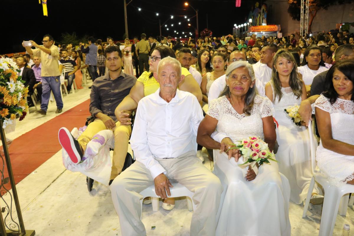 Mais de 250 casais vão oficializar a união na Cidade Junina 2019