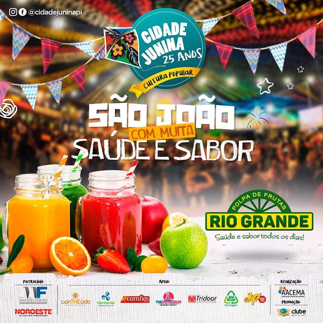 Polpas Rio Grande valoriza a cultura nordestina apoiando a Cidade Junina