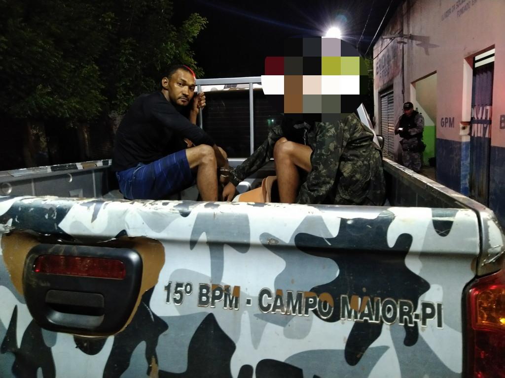 Foragido da Colônia Major César é preso em blitz na cidade de Boa Hora-PI
