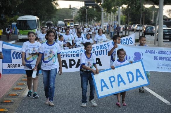 XIII Caminhada pela Acessibilidade alerta sociedade sobre direitos de pessoas deficientes
