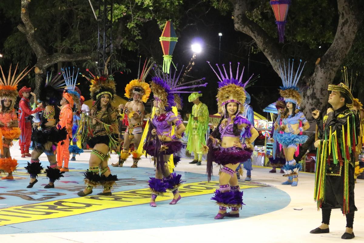 Apresentações culturais e shows musicais marcam primeira noite da Cidade Junina 2019