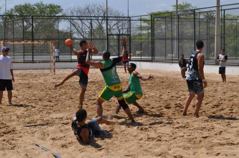 Piauí recebe etapa do Circuito Brasileiro de Handebol de Areia