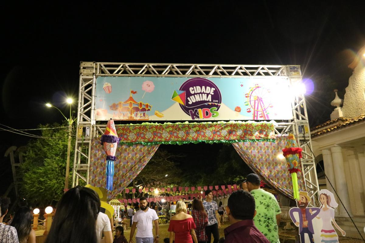 Cidade Junina Kids leva diversão, cultura e tradição para crianças