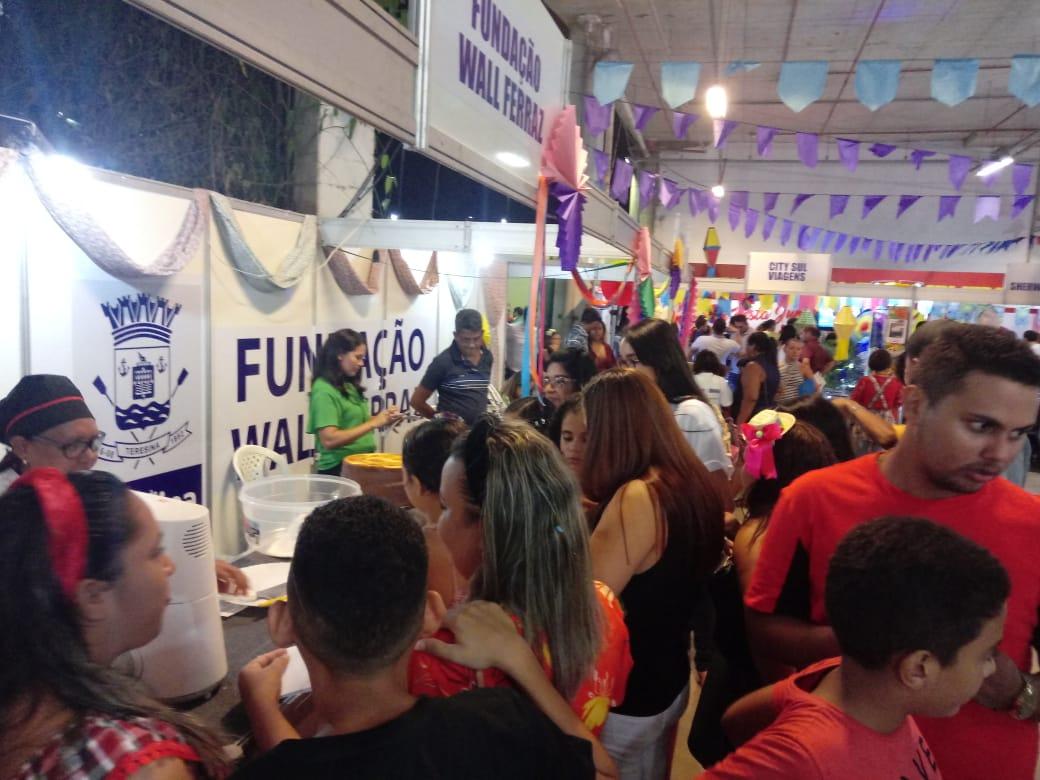 Fundação Wall Ferraz já realizou mais de mil atendimentos na Cidade Junina