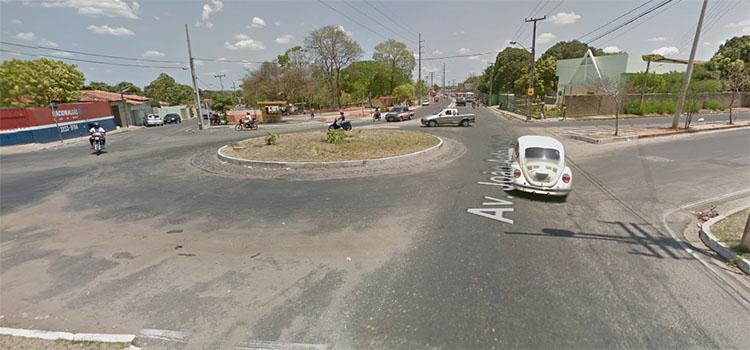 Strans faz mudanças em rotatória do bairro Piçarreira, zona leste