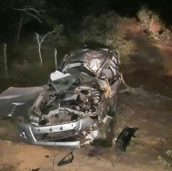 Cantor gospel e esposa sofrem grave acidente em Piracuruca
