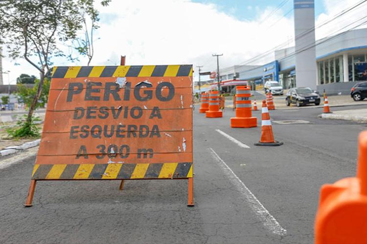 Avenida João XXIII será interditada por um mês; veja orientações