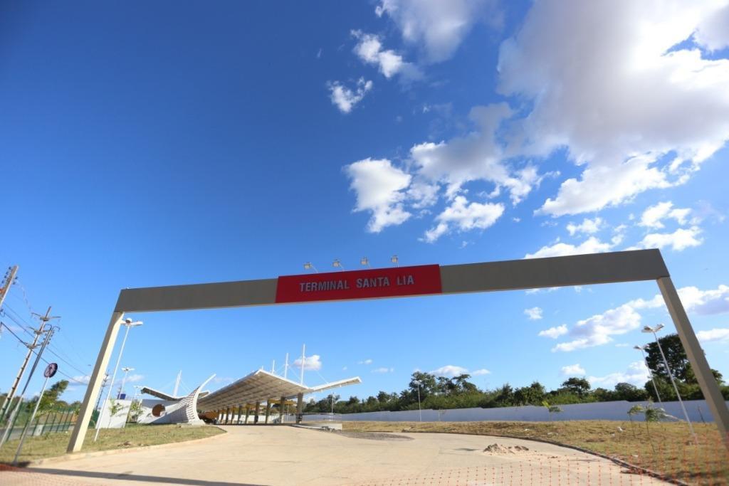 Terminal Santa Lia está sendo finalizado e deve começar a funcionar no dia 13 de julho