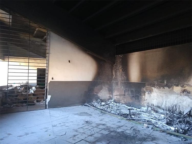 Perícia vai apontar causas de incêndio no estádio Albertão