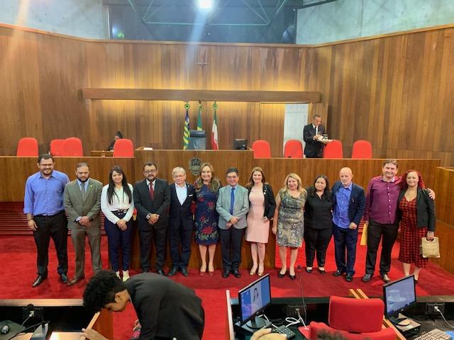 A Força da Notícia: ADUFPI, homenageada pelos 40 anos em sessão solene na Assembleia Legislativa do Piaui