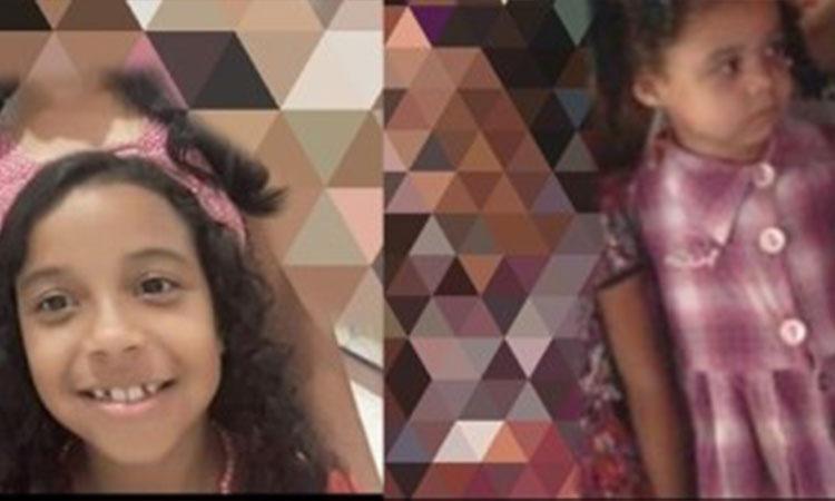 Primas de 8 e 4 anos morrem afogadas durante comemoração de aniversário