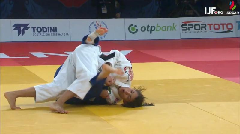 Com ippon, Sarah Menezes conquista o bronze no Grand Prix da Turquia