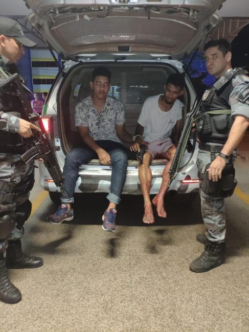 Assaltante é baleado em tentativa de fuga durante perseguição policial em Teresina
