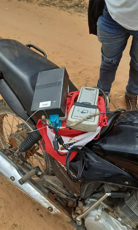 Preso suspeito de usar GPS em moto para fraudar percurso de caminhão-pipa no Piauí