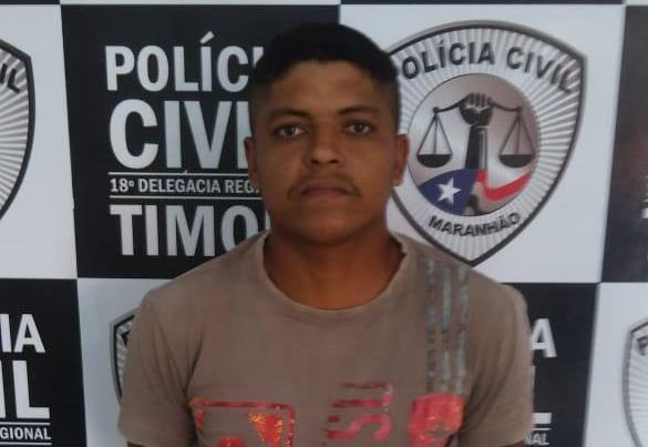 Homem é preso por porte ilegal de arma pela Polícia Civil do Maranhão