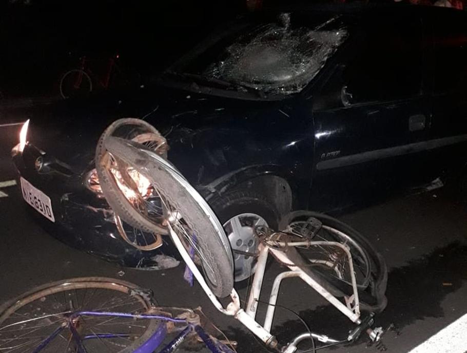 Carro desgovernado atropela sete ciclistas no interior do Piauí
