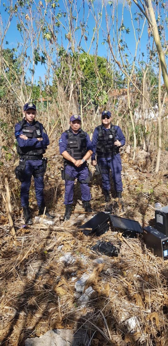 Guarda Municipal recupera material roubado de Cras em Teresina