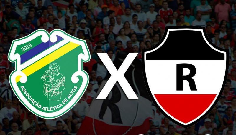 Altos e River se enfrentarão na final do Campeonato Piauiense de 2018