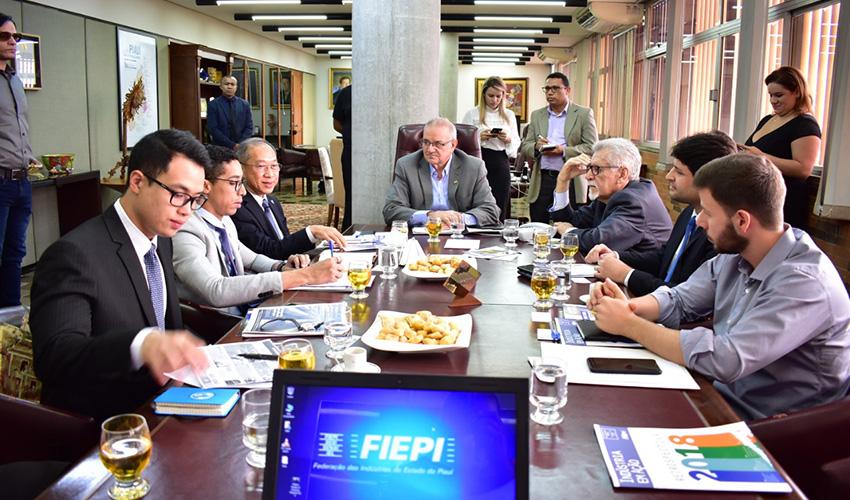 Embaixador da Tailândia visita o Sistema Fiepi
