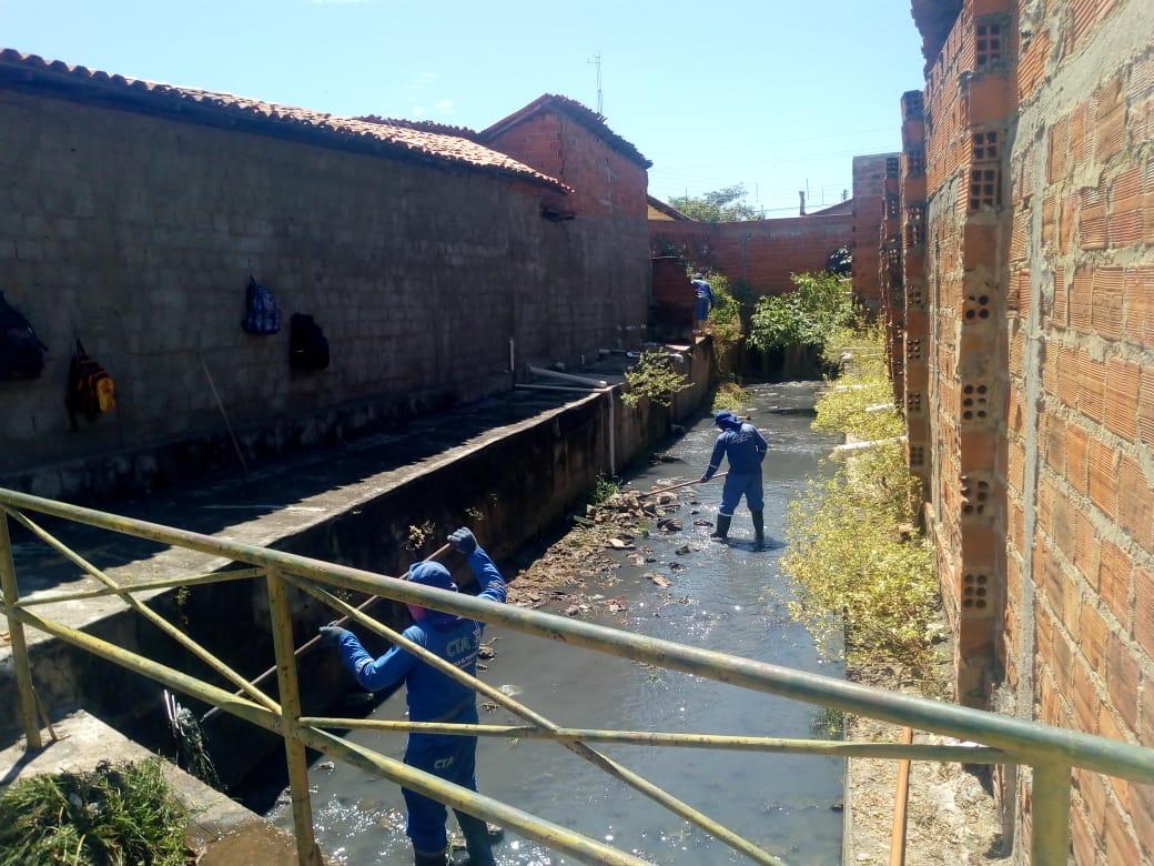SDU intensifica serviços de limpeza nas galerias da zona sudeste da capital