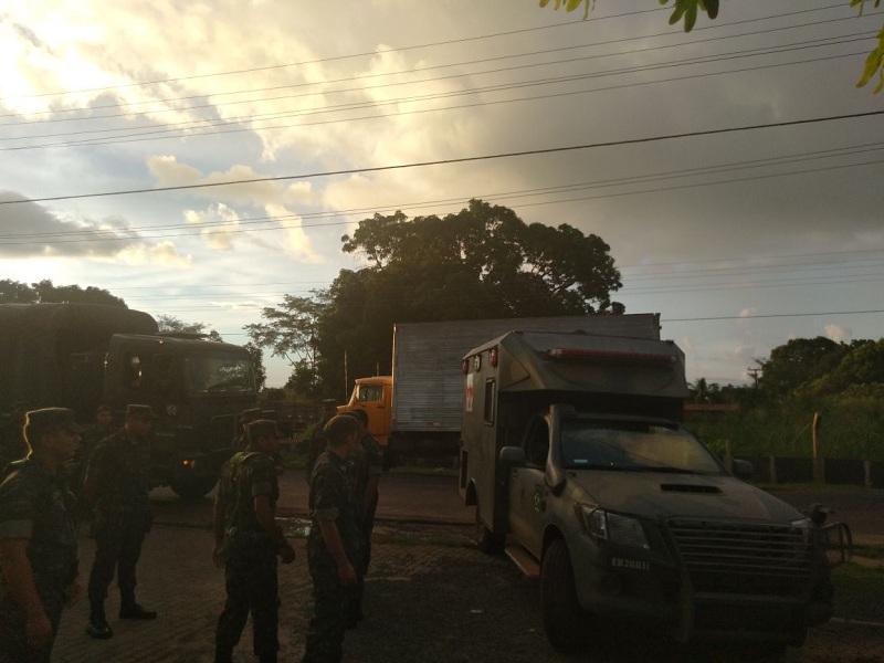 Exército é acionado para resgatar famílias em área próximas de barragem com risco de rompimento no PI
