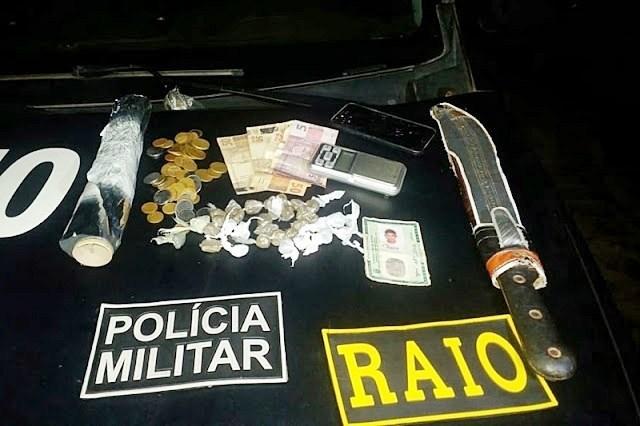 Homem é preso por tráfico de drogas em Cocal dos Alves
