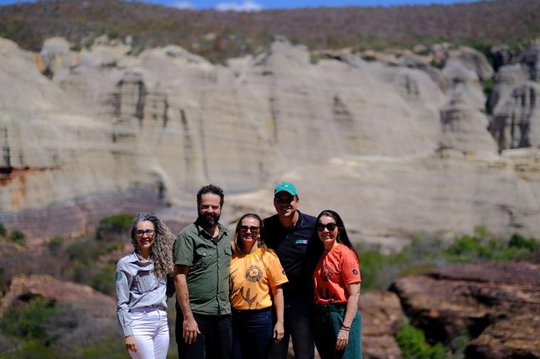 Ministro do Turismo interino faz visita técnica à Serra da Capivara (PI)