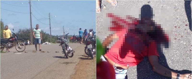 Colisão entre motocicletas deixa um homem morto em Morro do Chapéu do Piauí