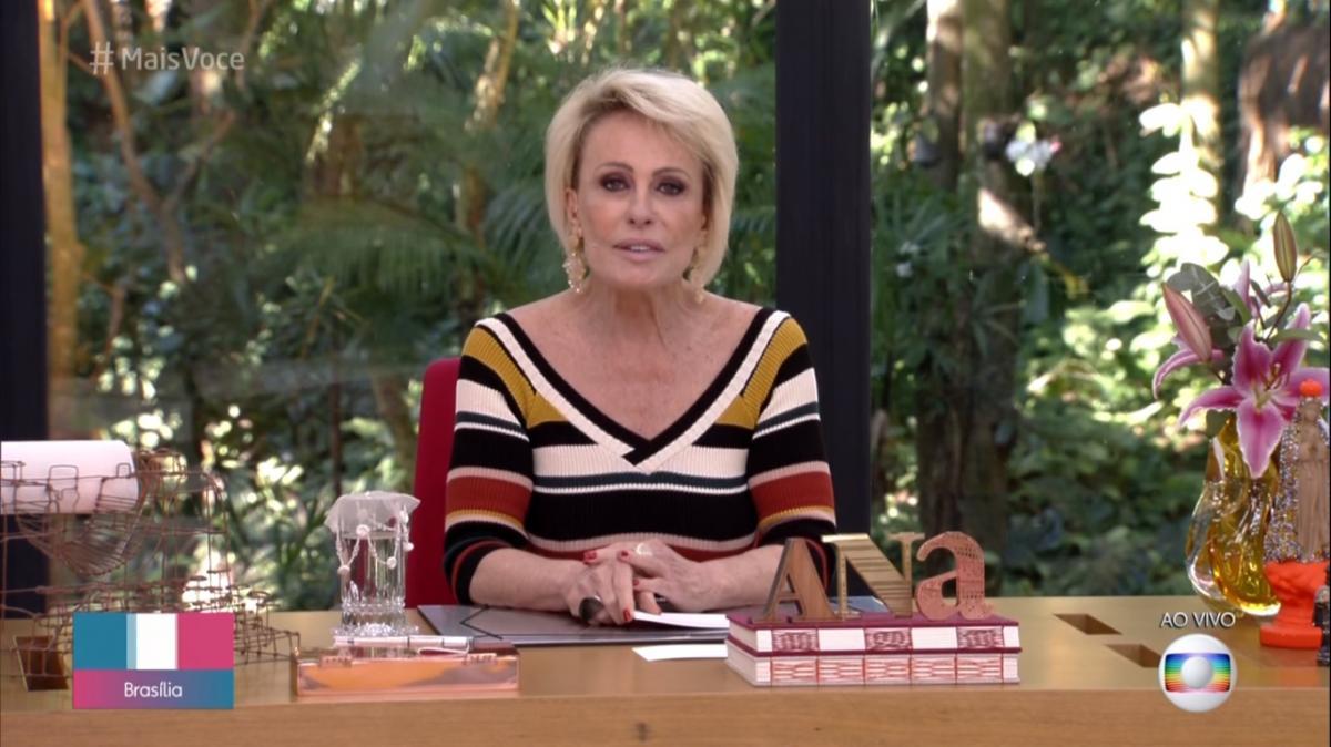 Ana Maria Braga é criticada após piada envolvendo cariocas