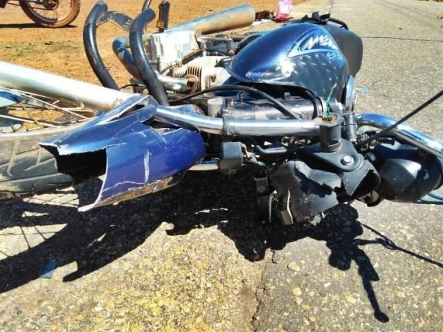 Colisão entre duas motos deixa um morto e um ferido no interior do Piauí
