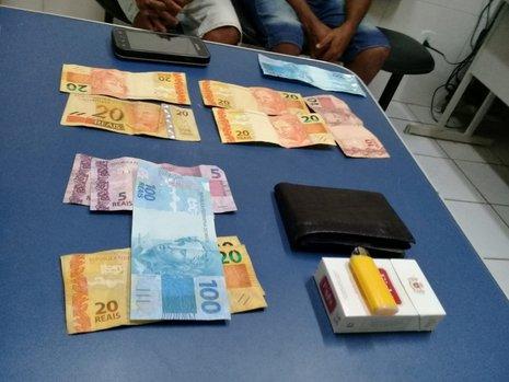 Dupla é presa com dinheiro falso em festa de São Raimundo Nonato