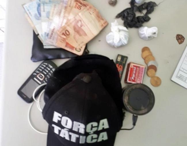 Dupla é presa por tráfico de drogas no município de Altos