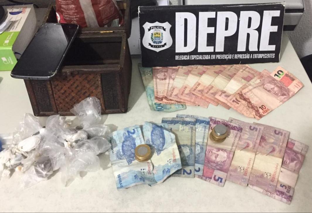 Menor é apreendido por tráfico de drogas na zona Leste de Teresina